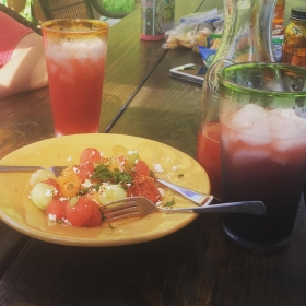 I made ALL the watermelon recipes @kiracypers sent me. Yum, and thank you...